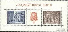 Österreich Block3 (kompl.Ausg.) postfrisch 1976 Burgtheater