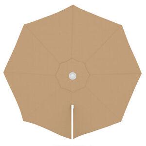 Sonnenschirm Bespannung Ersatz Schirm Bezug 3,5m Sonnenschirmbezug Creme B-Ware