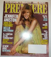 Premiere Magazine Jennifer Aniston & O.J. Simpson February 2004 031015R