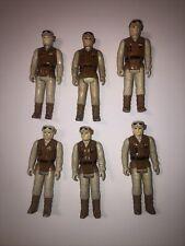 Vintage 1983 Kenner Star Wars Rebel Soldier Hoth Figure Lot