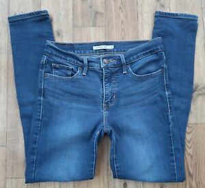 Ladies Levis 311 Shaping Skinny Jeans size 8 Waist 26 leg 28 Levi jeans