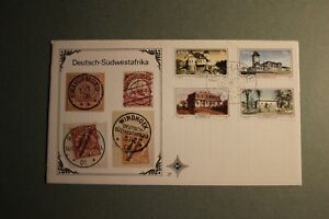 Stamps Southwest Africa 1977 Historic Buildings FDC