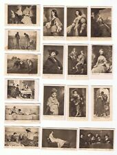 1912 ITC C43 Art Photogravures Complete Set Of 50 Tobacco Cards