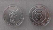 """Ucraniano """"Arcángel Michael"""" 1 OZ (approx. 28.35 g) moneda de plata, UNC, menta en Cápsula Original"""