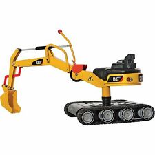 Rolly Cat Crawler Metal Excavator- childrens ride on toy digger with tank tracks