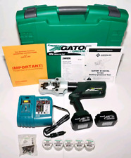 Crimper Greenlee gator and Cutter  E12CCXL12  12 Ton with 12-Volt Charge