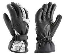 $100 Leki Womens Butterfly Trigger S Goretex Ski Gloves Goatskin Leather Ladies