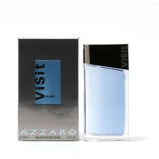 AZZARO VISIT FOR MEN   EAU DE TOILETTE 100ml  SPRAY NEUF