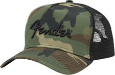 Genuine Fender Camo Snapback Hat, One Size Fits Most 912-4000-100