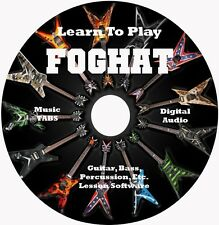 Foghat Guitar TABS Lesson CD for Windows,Linux,MAC 111 Songs!