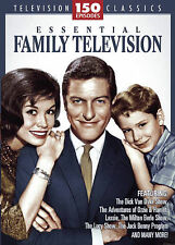 Essential Family Television (DVD, 2008, 12-Disc Set) 150 Episodes  TV Classics