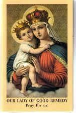 Our Lady of Good Remedy Holy Card Lot with Prayer Folder Type 10 Cards @ $2.25