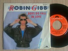 "ROBIN GIBB (BEE GEES) - BOYS DO FALL IN LOVE - 45 GIRI 7"" ITALY"