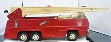 TONKA PRESSED STEEL FIRE TRUCK WITH LADDER AS IS FOR PARTS OR RE BUILD