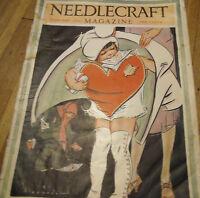 Needlecraft Magazine Adorable Heart K Alexander Valentines Day February 1928