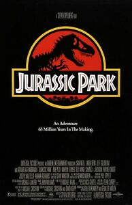 Jurassic Park movie poster print : 11 x 17 inches : T-Rex poster