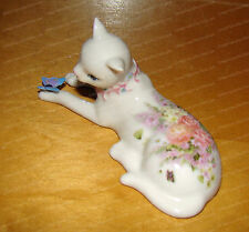 CAT Playing with Butterfly (Kitty Kats by Westland, 16661) Porcelain