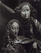 1967/80 Vintage Czech SILVER GELATIN PHOTOGRAPH Art Gothic Sculpture TIBOR HONTY
