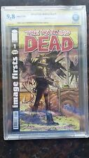 Image Firsts Walking Dead (2012) # 1- CBCS 9.8 WHITE Pages SS Jon Bernthal