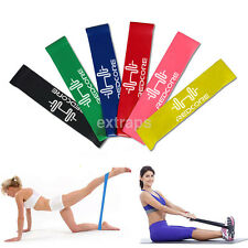 4x Gym Fitness Equipment Resistance Mini Band Strength Training Equipments Latex