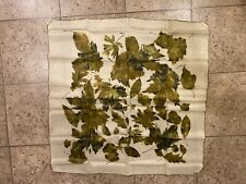 Vintage 1960's Amerlon made in Japan Hand Rolled 100% Raylon Scarf 30�x30�