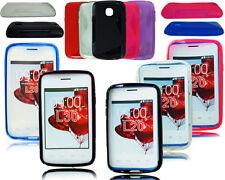 Étuis, housses et coques noirs en silicone, caoutchouc, gel pour téléphone mobile et assistant personnel (PDA) LG