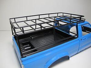Custom made Metal Cargo Roof Rack Tamiya 1/10 RC Toyota Hilux pick up Truck
