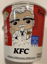 Funko Pop! KFC Funko Shop Exclusive Bucket - Gold Colonel Sanders #05 + Tee (XL)