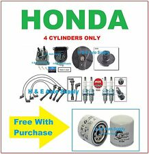 96-00 CIVIC 1.6L TUNE UP KITS: SPARK PLUGS WIRE SET, OIL FLTR, DIST. CAP & ROTOR