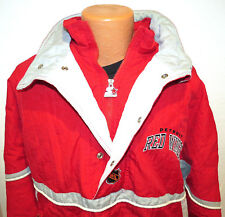 vtg DETROIT RED WINGS Starter Ski Jacket XL 90s nhl puffer hockey winter