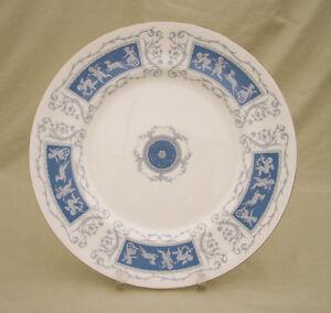 "Coalport Revelry(Blue w/Gold Trim)10 3/4"" Dinner Plate"