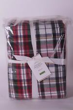 NWT Pottery Barn Denver Plaid flannel Christmas FULL sheet set