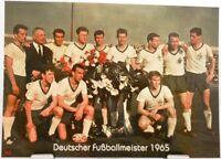 Werder Bremen + Deutscher Fußball Meister 1965 + Fan Big Card Edition F4 +