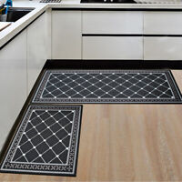 Non Slip Doormat Kitchen Floor Mat Bath Area Rug Bedroom Living Room Carpet Home