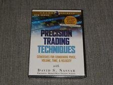 David Nassar - Precision Trading Techniques DVD stock market traders