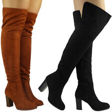 Buy High Heel 4.5 (3 4.5 Heel in.) Special Occasion Thigh High Stiefel for ... aced48
