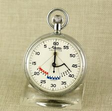 MINERVA Yachting Stoppuhr Taschenuhr Uhr Uhren stop watch Taschenuhren antike 1A