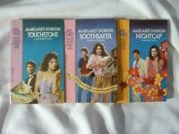 THREE (3) MARGARET DOBSON paperbacks in JANE BAILEY series