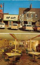 Night Hawk Cafe & Rodeo Room Camdenton, Missouri Roadside Postcard ca 1950s