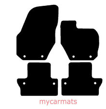 Volvo V60 & S60 Manual (2010-Now) New Fully Tailored Car Floor Mats Black Carpet