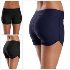 Women Slim Fit Bikini Bottoms High Waisted Beach Shorts Swim Briefs Swimwear US