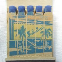 Vintage Feature Matchbook FULL The Johnina Hotel Famous Dream Bar Miami Beach FL