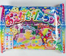 Kracie Popin Cookin Oekaki Gummi Land Japanese Gummi Candy Dagashi kashi