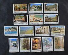 Ckstamps: Gb Stamps Collection Cyprus Scott#640-645 Mint Nh Og