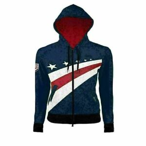 Primal Wear USA Cycling Women's Full Zip Traceuse Hoodie