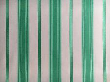 Westminster Fibers Free Spirit Jade & White Stripe- yards