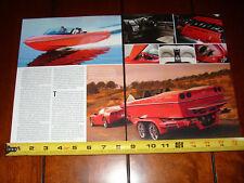 Malibu Corvette Limited Edition Sport V - Original 2008 Article