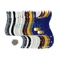 P Bass Pick Guard 13Holes Scratch Plate Pickguard for 4-String Precision PB Bass