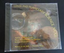 NASA Lunar and Planetary Science Science XXXII Conference 2001 New CD ROM Sealed