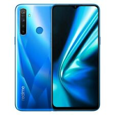 "New Launch Realme 5s Unlocked Dual SIM-4GB RAM-6.5"" HD+ Mini Drop Display-Blue"